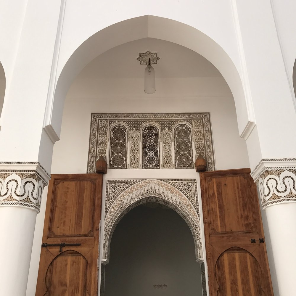 I learned pretty quick that doors in Morocco can hide some incredible things so if the opportunity arises you might as well go in.