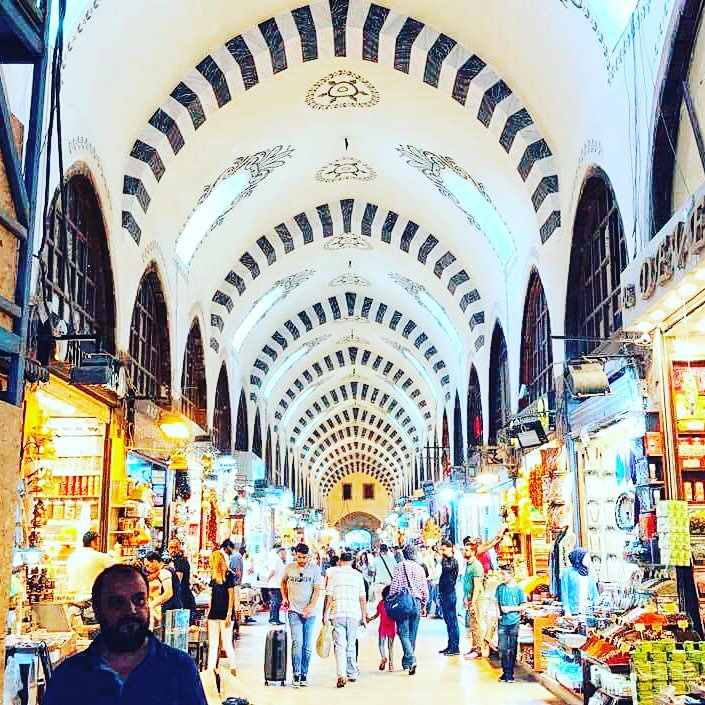 The Egyptian spice market