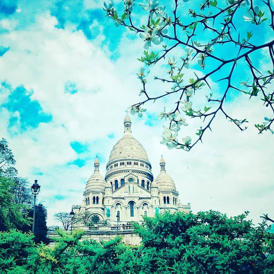 The lovely Sacre Coeur