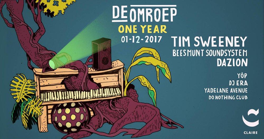 De Omroep One Year FM - 1 december 2017