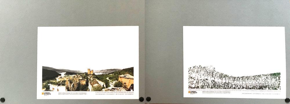 Plan de Actuación para la Rehabilitación de Ruesta                                         Proyecto de Ejecución para la rehabilitación del tramo del Camino de Santiago a su paso por Ruesta