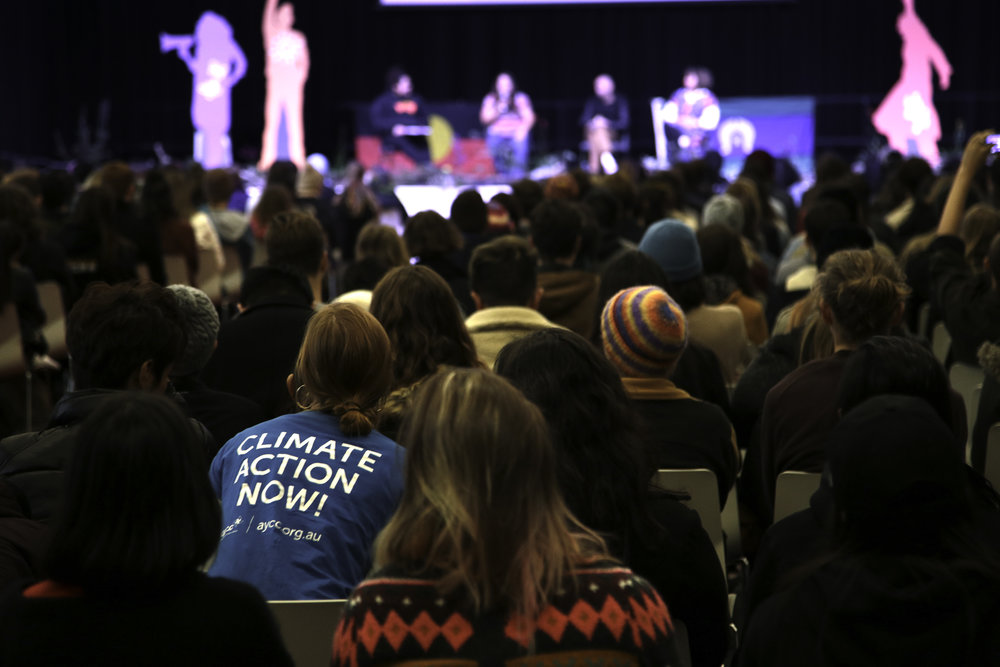 Power Shift Climate Summit 2017, Melbourne.