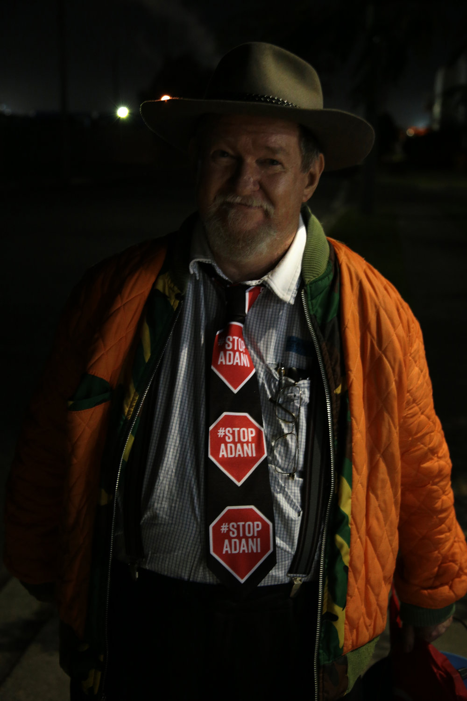 #StopAdani action on Downer, Brisbane.