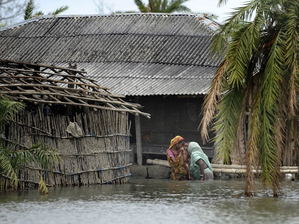 How climate change disproportionately kills women and girls. -