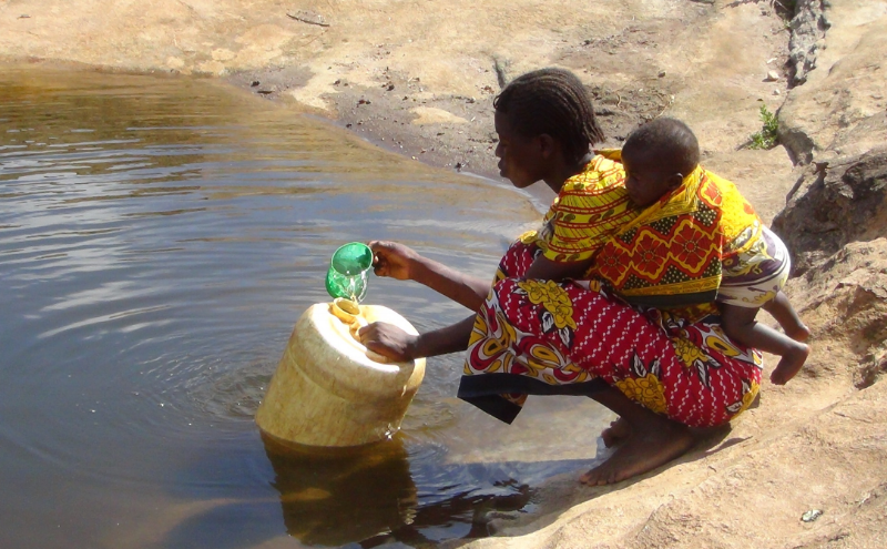 In Africa a child dies from a water-related disease every 90 seconds. -
