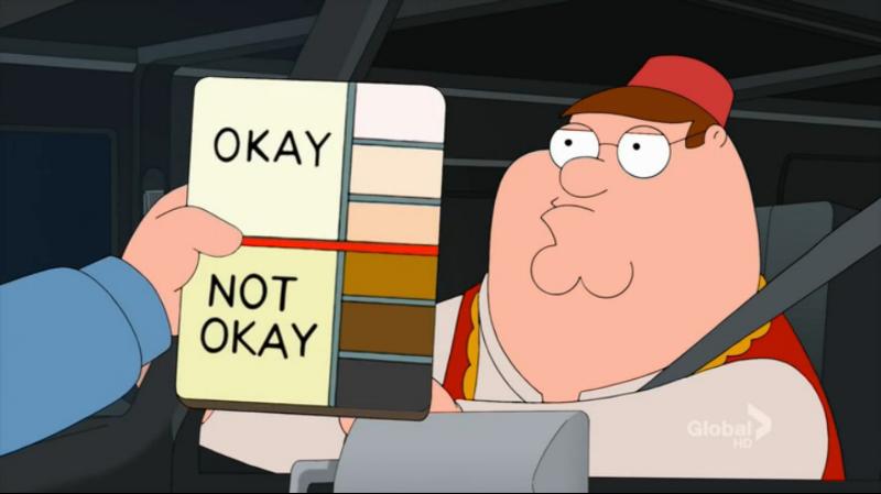 Racist Random Checks
