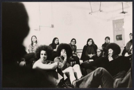 [One of the first Consciousness Raising Meetings in 1970]