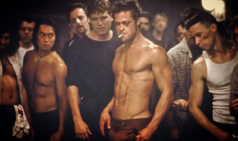 Brad Pitt_Fight Club