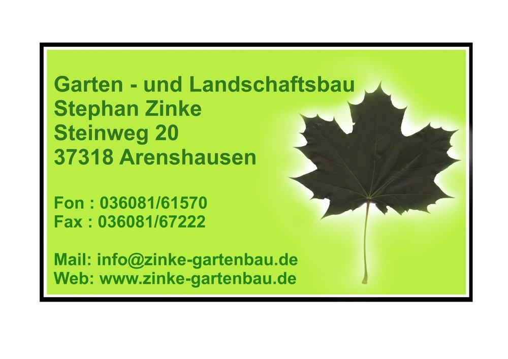 Garten- und Landschaftsbau Stephan Zinke