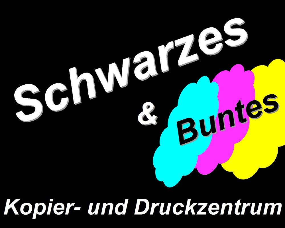Schwarzes & Buntes Kopier und Druck Zentrum