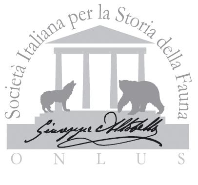 Società Italiana per la Storia della Fauna - Giuseppe Altobello
