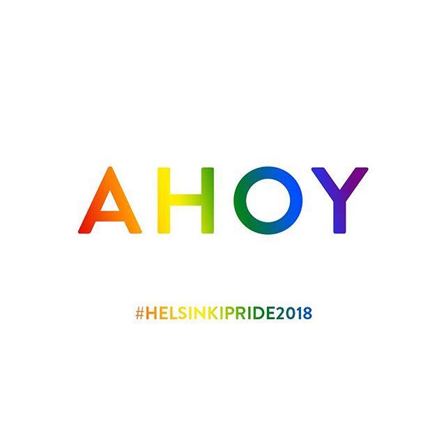 Happy Pride 2018!! #helsinkipride2018 #pride2018🌈 ☀️❤️