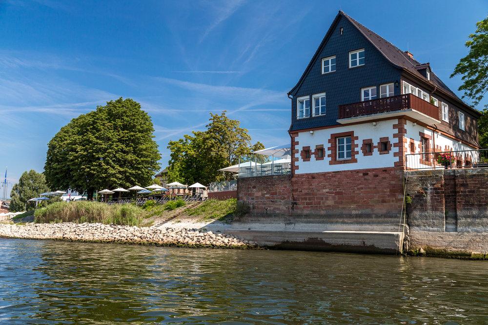 Außenansicht Bastion von Schönborn