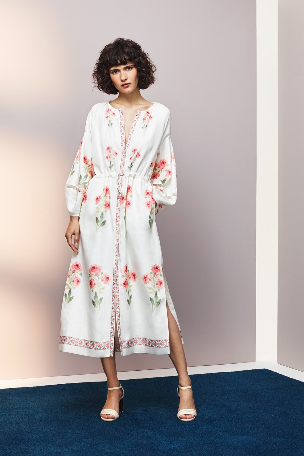 Vilshenko Penny Raw Silk Calf Length Dress  £850.jpg