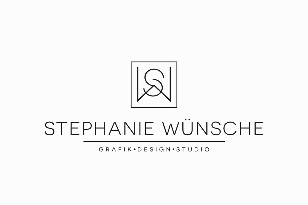 Stephanie Wünsche Grafik Design Studio | Logo