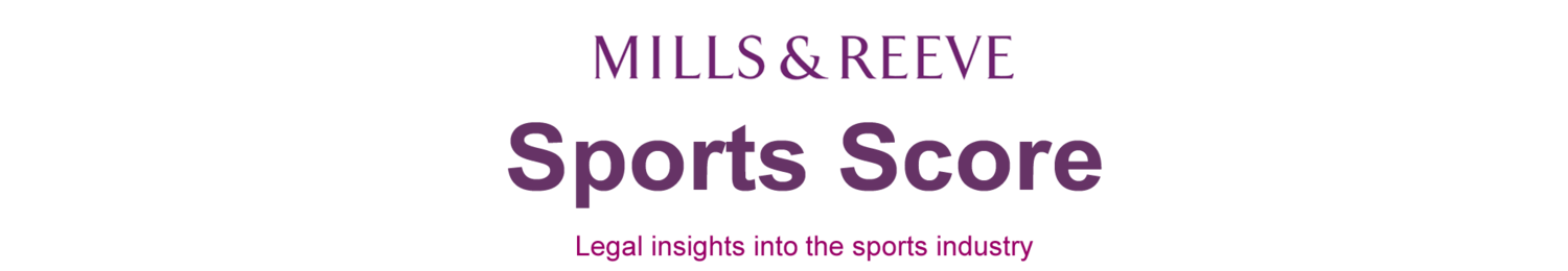 Sports Score - Legal insights into sports law