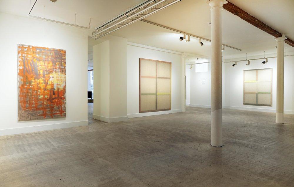 Galeria Carles Taché at No 20. Miguel Ángel Campano, Guillermo Pfaff.