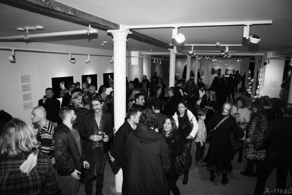 Opening night - New Roads at No 20. Organised by A-Head and Onlus Angelo Azzurro.