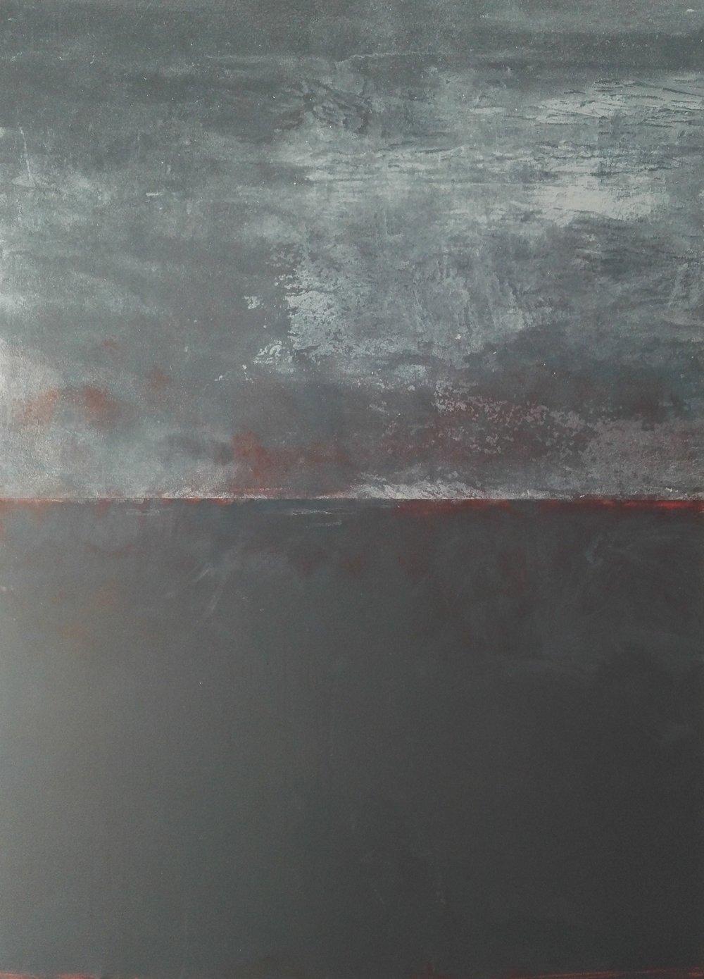 Event Horizon I, 2018 Acrylic on canvas
