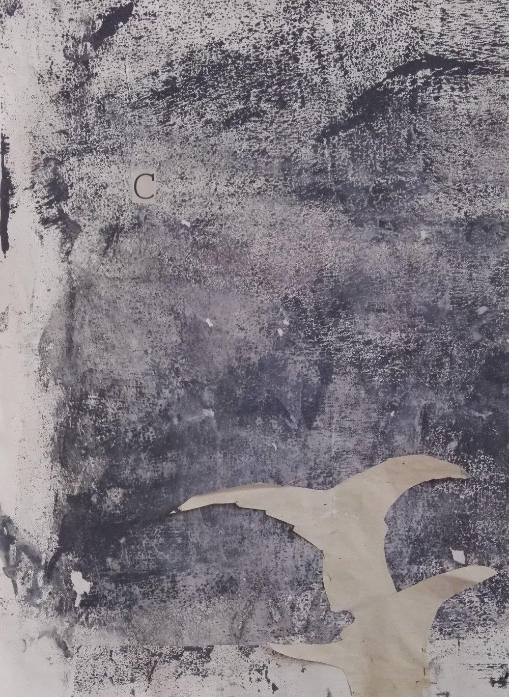 Keith Roberts,  Wash Horizon III,  2018 [Detail]