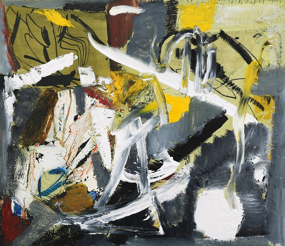 Arthur Lanyon, Left Bank, 2017 [Detail]