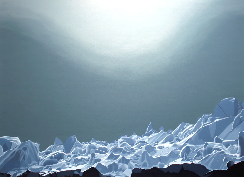 Rosie Snell, Ice Floe, 2012 [Detail]