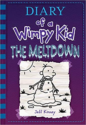 Diary of a Wimpy Kid The Meltdown,  by Jeff Kinney