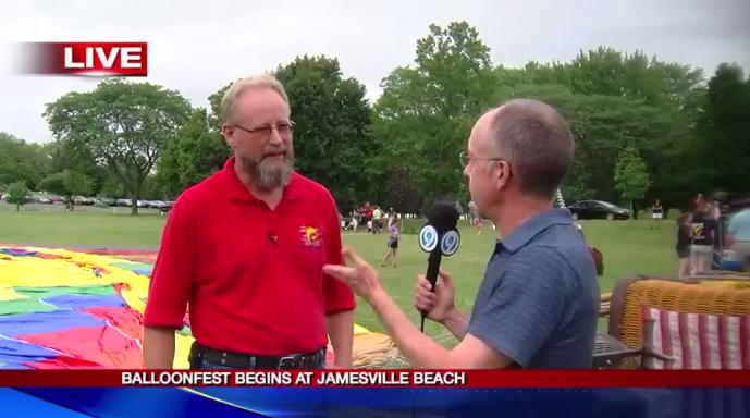 Balloonfest at Jamesville Beach