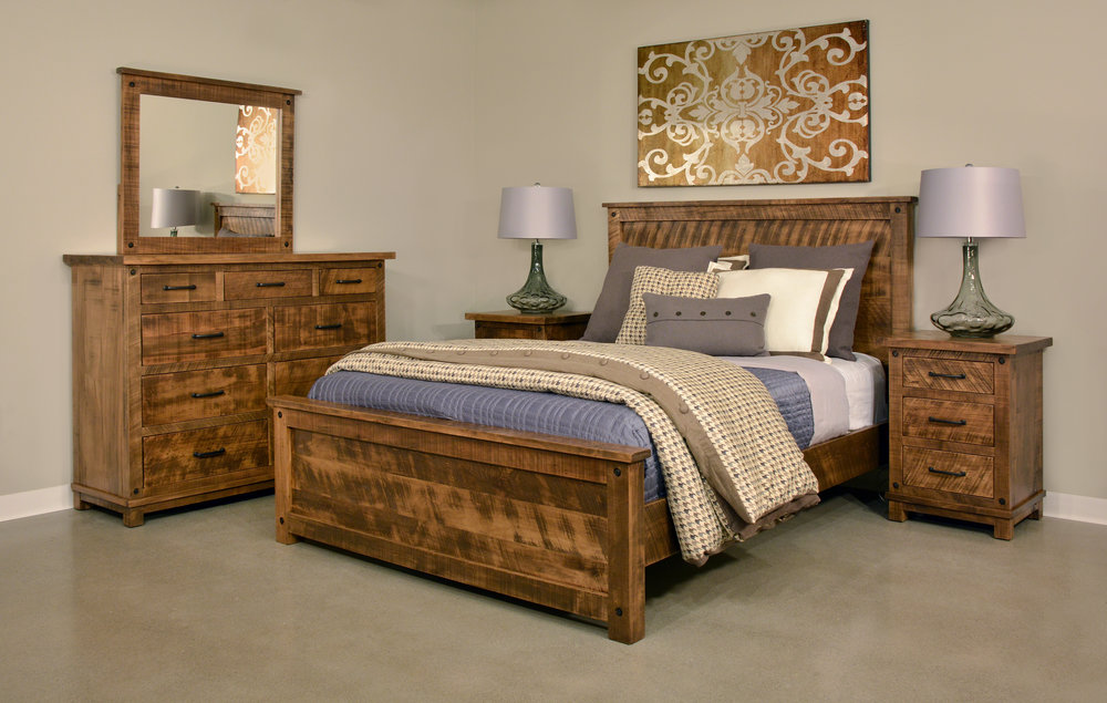 rustic bedroom sets for sale in Warren, PA
