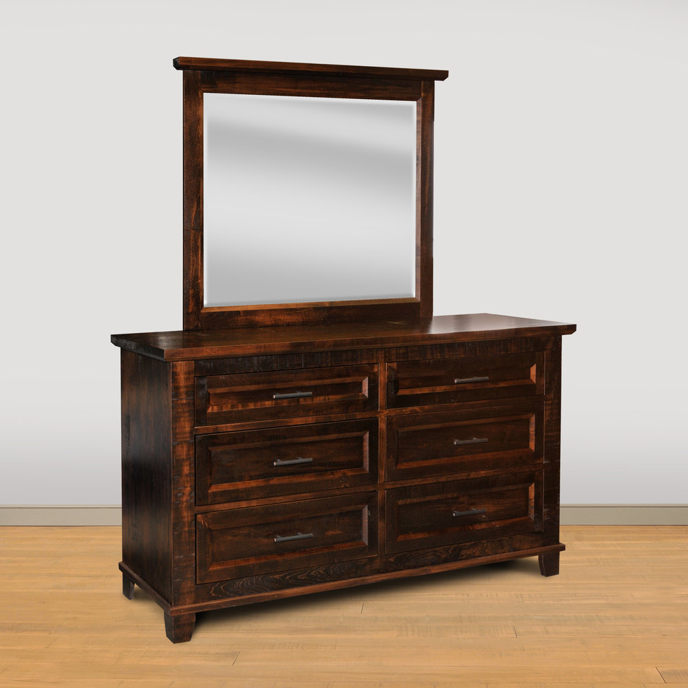 Alqonquin dresser with mirror