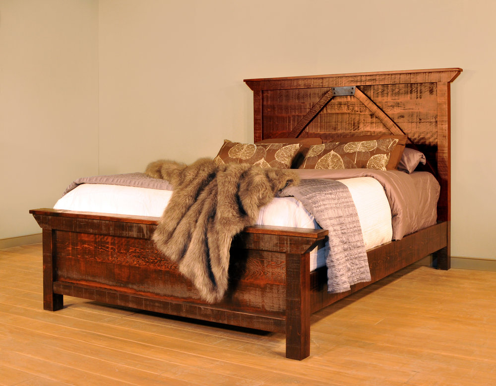 Rustic Carlisle bed for sale in PA