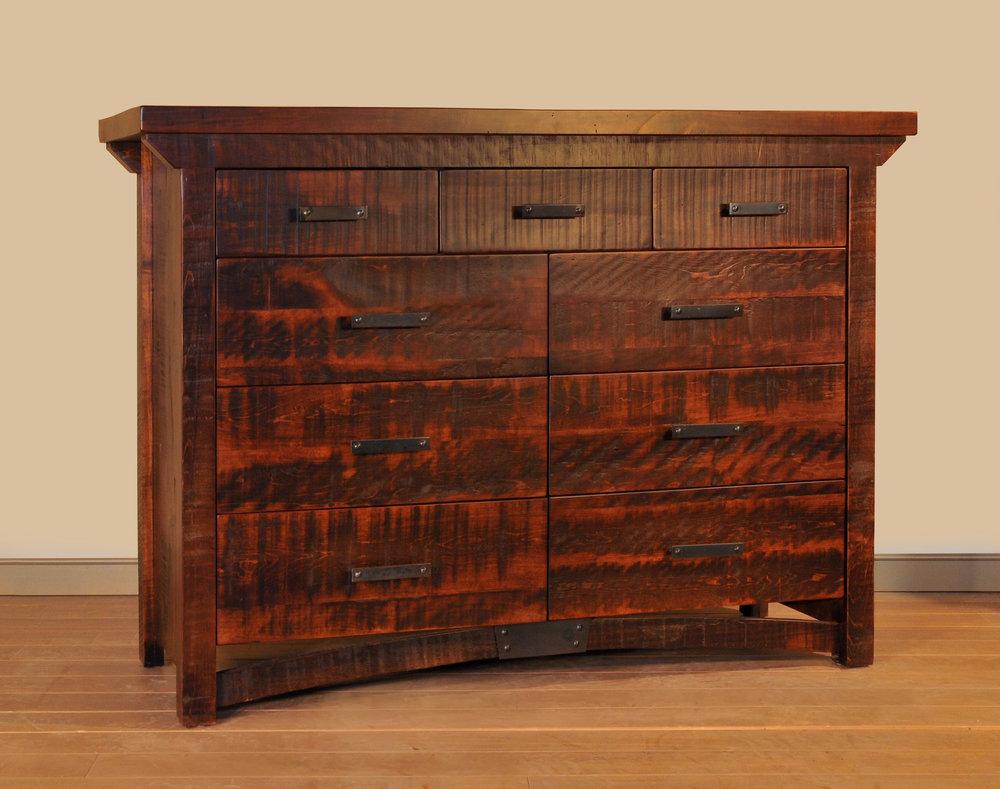 Rustic carlisle dresser