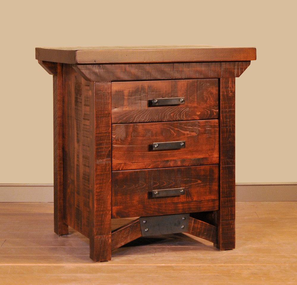Rustic Carlisle nightstand