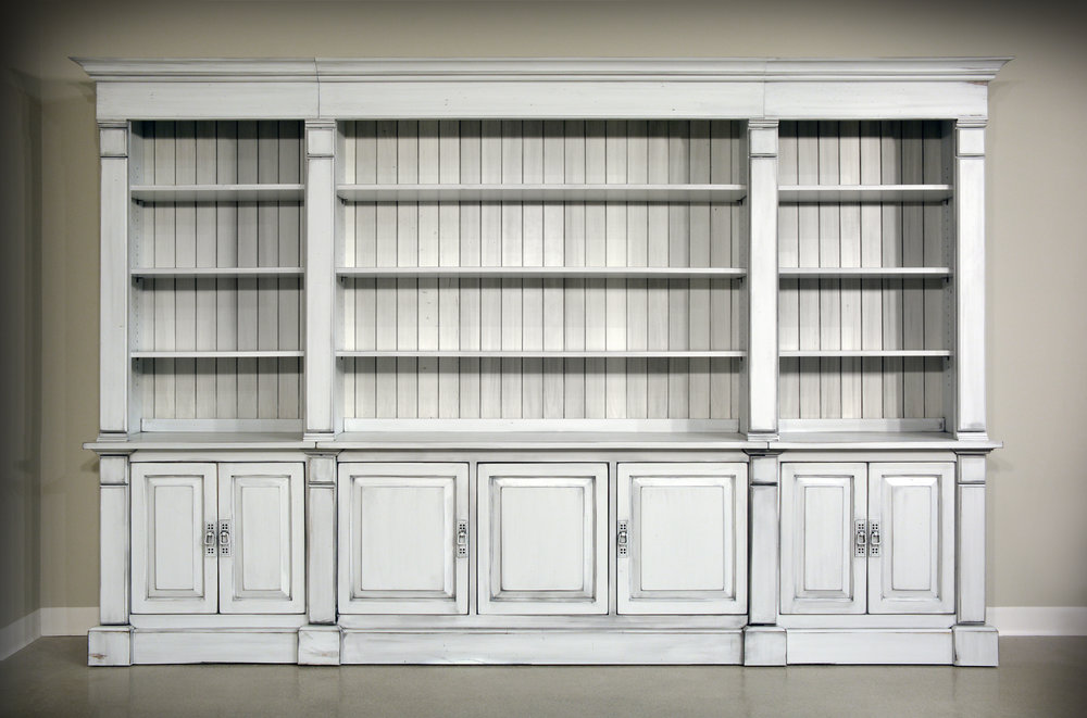 sleek bookcases for sale from amish manufacturers in Cleveland, Ohio