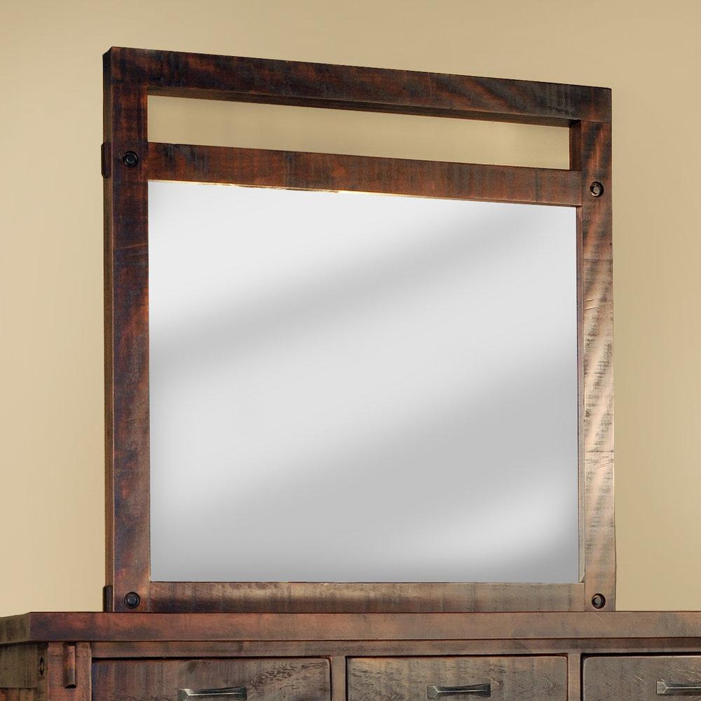 Timber mirror