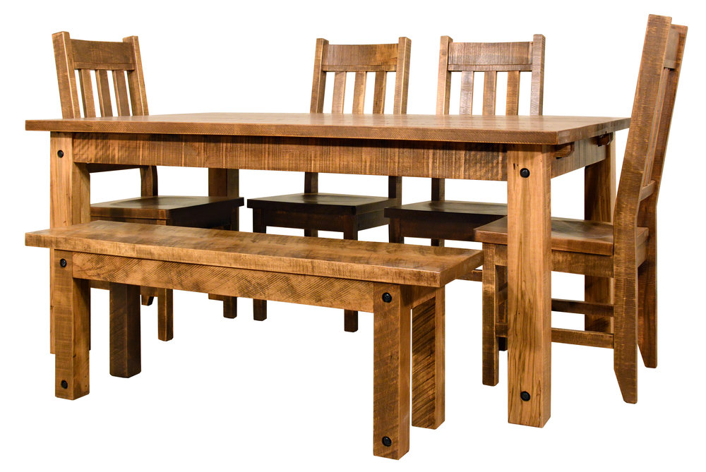 Dining set in amish country