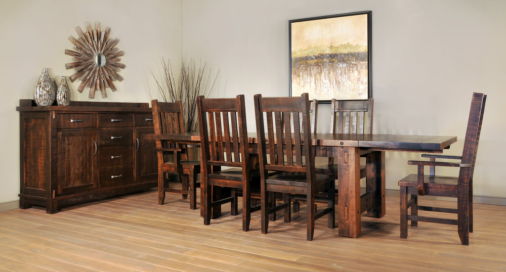 Timber Dining set for sale in PA