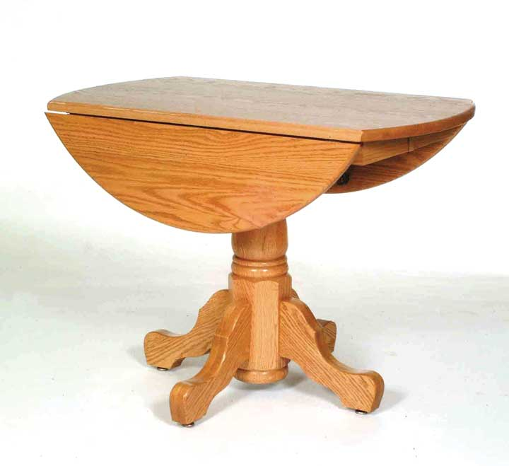 single ped drop leaf table 2