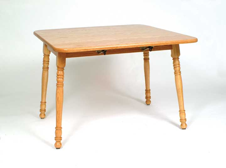 small harvest drop leaf table