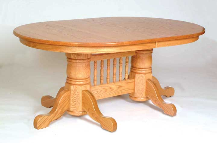 double pedestal 1 table