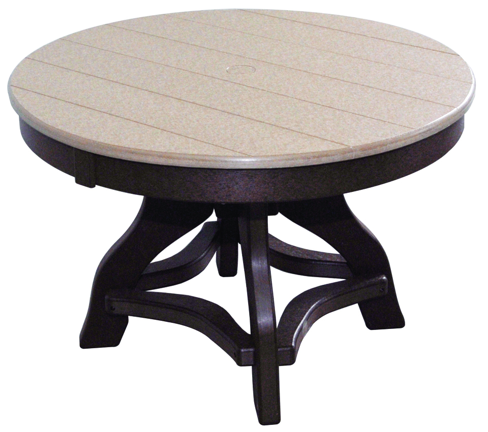 Chat table from amish furniture maker