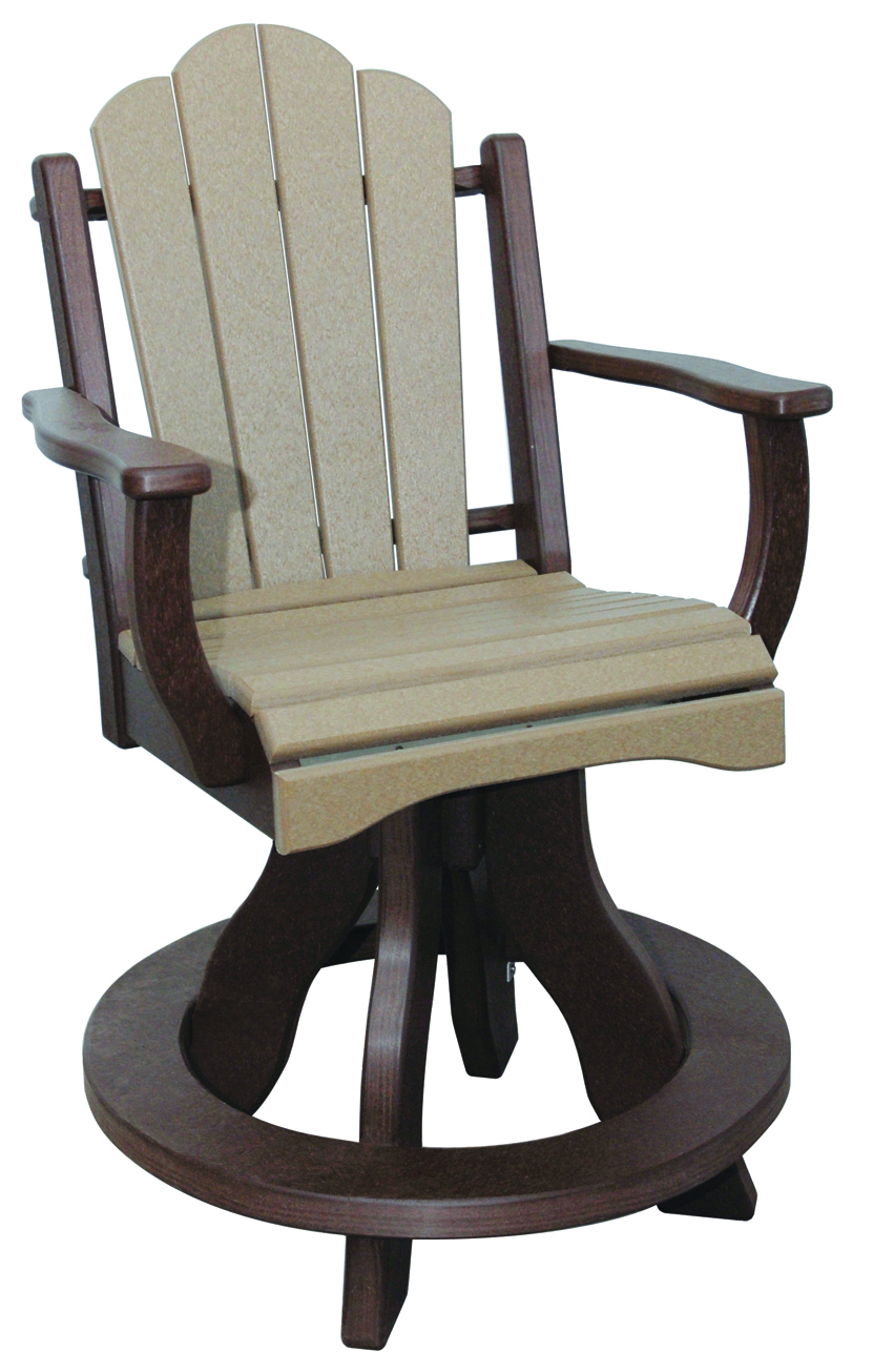 Swivel chair for patio