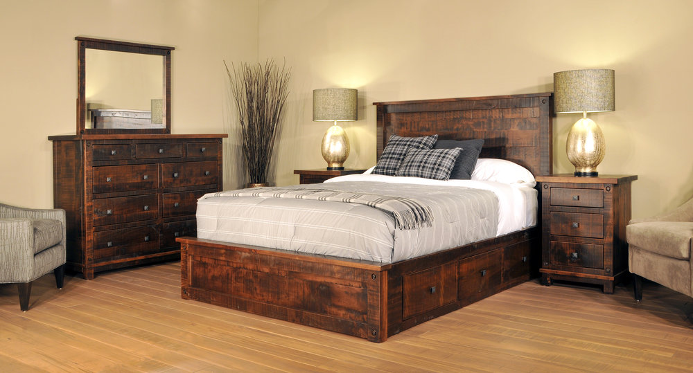 dark brown bedroom furniture for sale