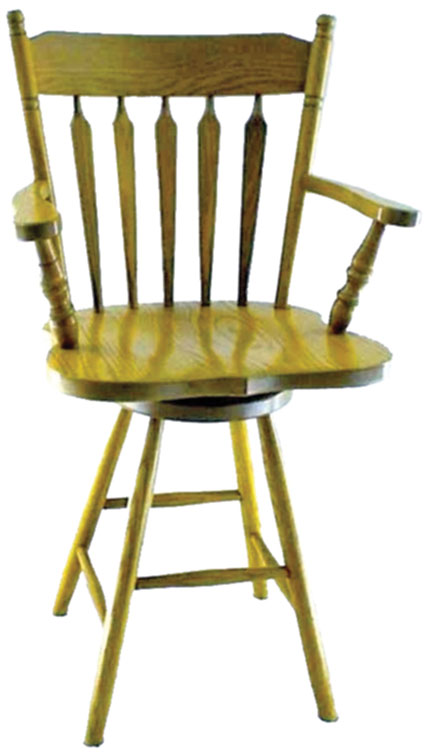 10c colonial barstool