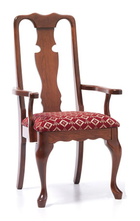 303 Queen Anne Arm Chair