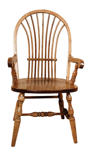 Bowsheaf arm chair