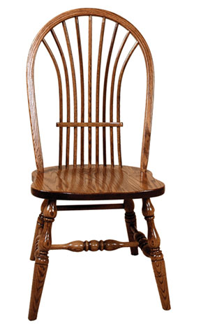 bow sheaf side chair