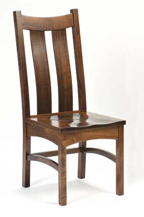 country shaker side chair