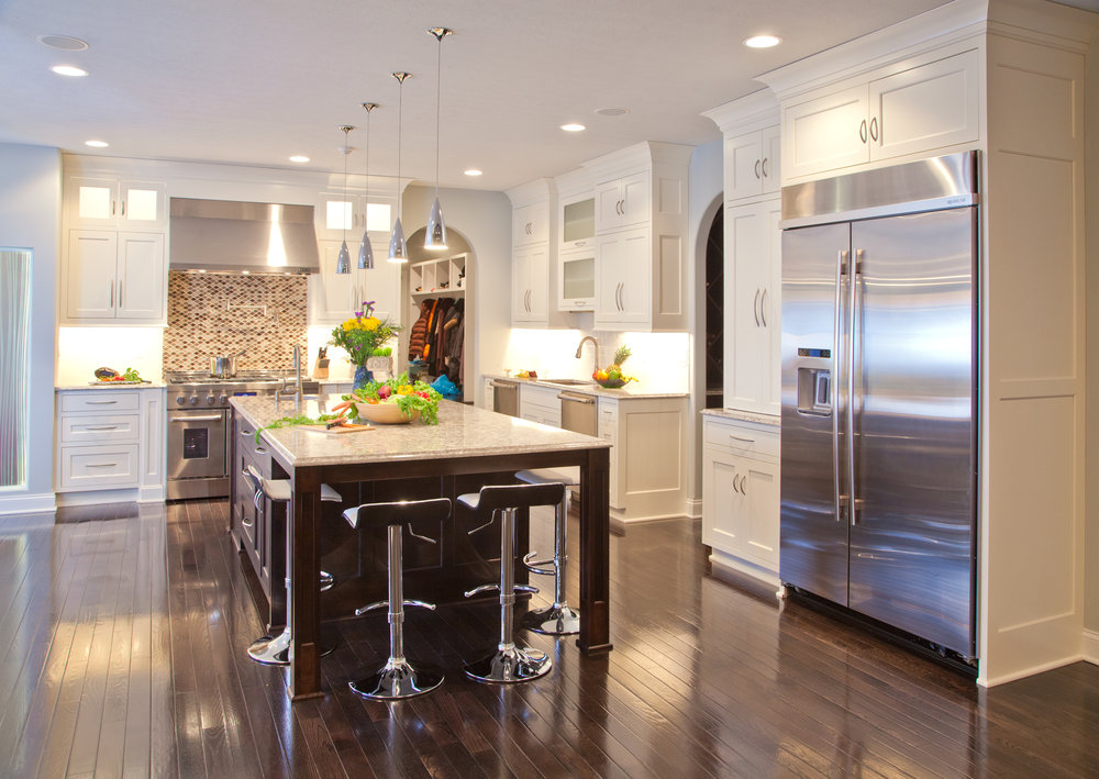 luxury made kitchen cabinets