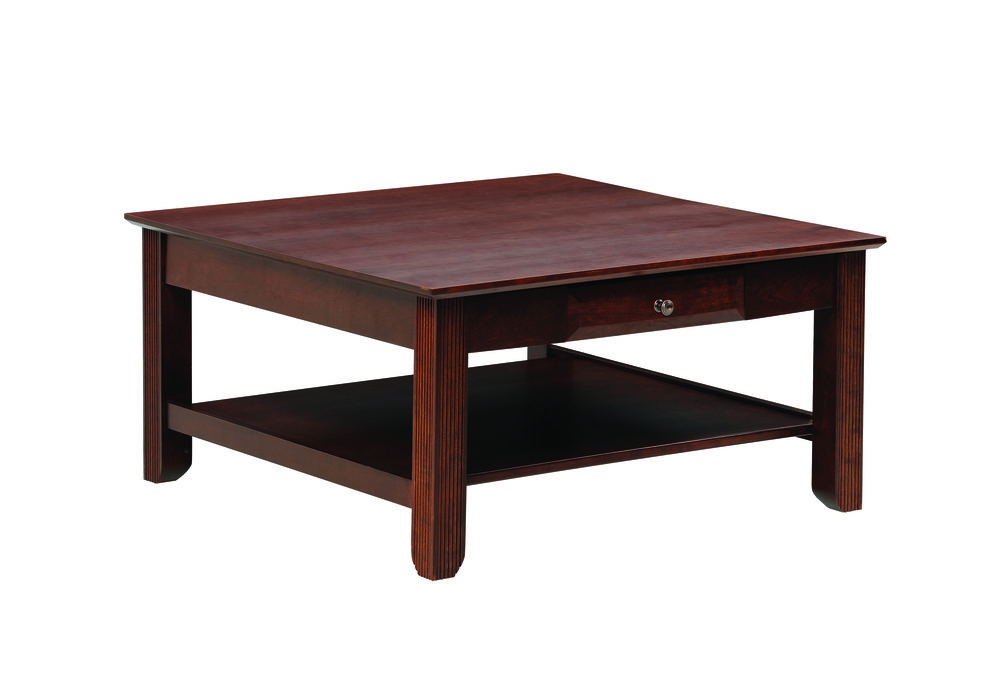 arlington coffee cherry table